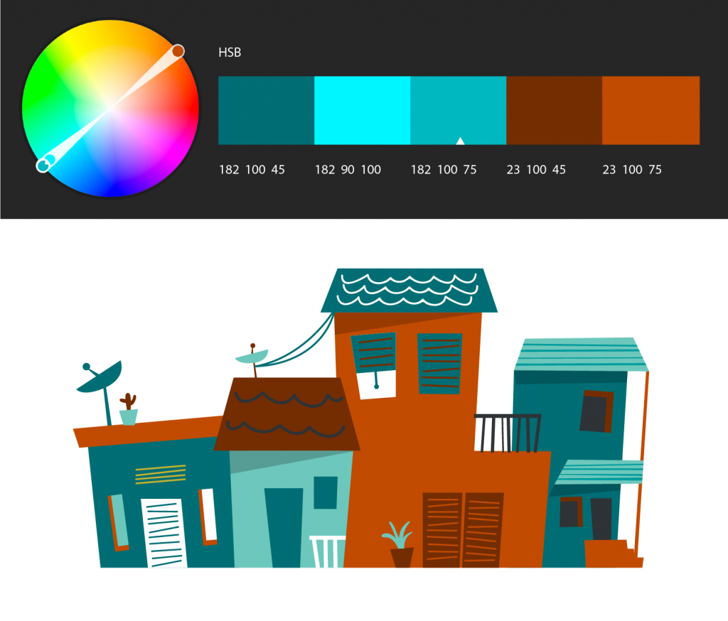 Photoshop使用 Adobe Color Themes 扩展